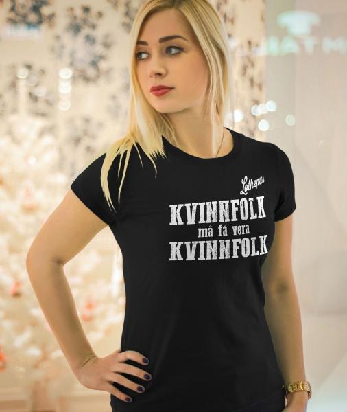 T skjorte Lothepus Svart Lothepus | Nettbutikk